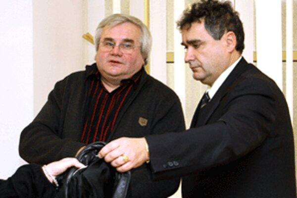 Podnikateľ Igor Šajgal (vľavo)