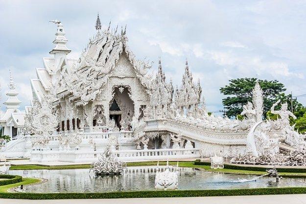 Wat Rong Khun, Chiang Rai, Thajsko