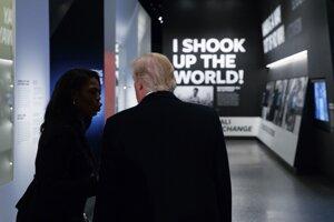 V Národnom múzeu afro-americkej histórie a kultúry.
