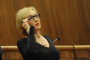 Renáta Zmajkovičová na snímke z roku 2012.