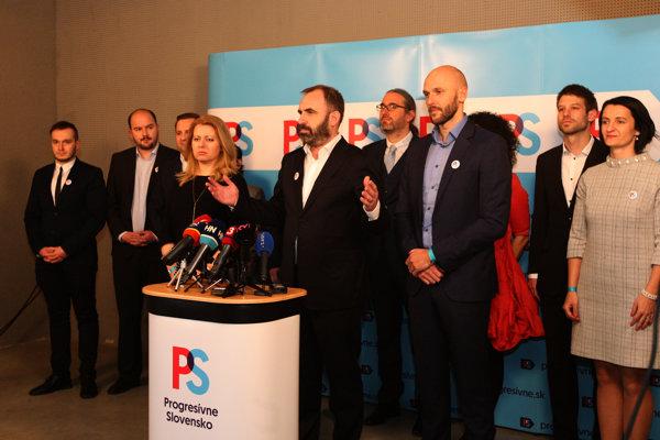 Nová strana s názvom Progresívne Slovensko si v sobotu zvolilo svoje vedenie. Na čelo sa dostal podnikateľ Ivan Štefunko.