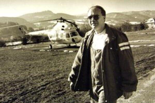 Pri tragickej nehode prišiel o život  skúsený lekár Andrej Faglic ( na snímke) a pár dní po ňom aj šofér sanitky