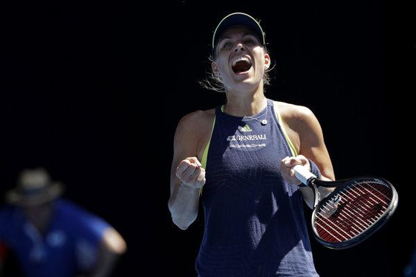 Nemecká tenistka Angelique Kerberová postúpil na Australian Open do štvrťfinále.