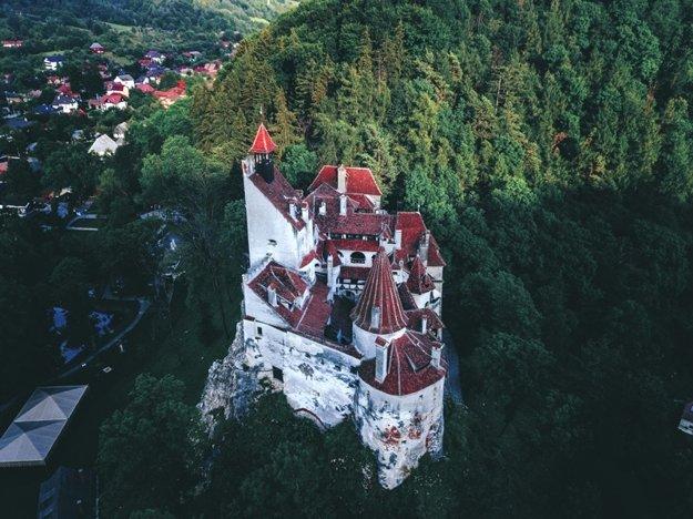 Hrad Bran, známy ako Draculov hrad