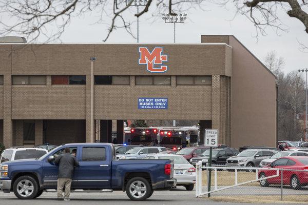 Stredná škola v americkom Kentucky, kde sa strieľalo.