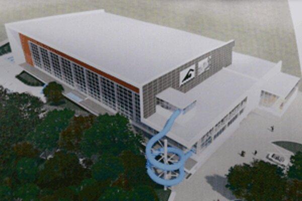 Takto bude vyzerať nová plaváreň.