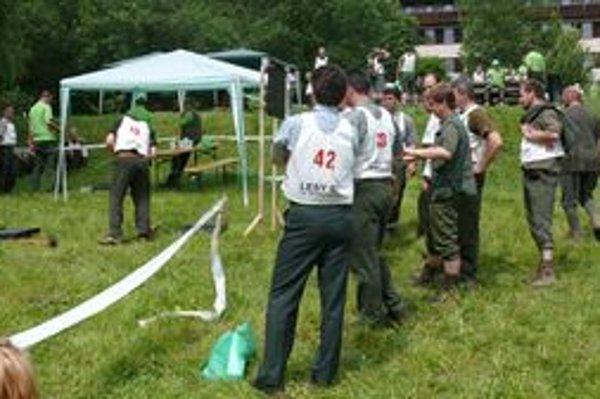 V Tajove súťažili lesníci.