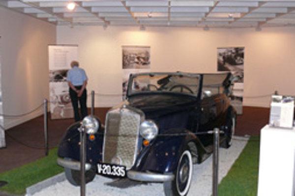 Mercedes vyrobili v roku 1940.