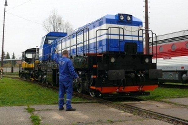Na lokomotíve je pôvodný iba rám a podvozok.