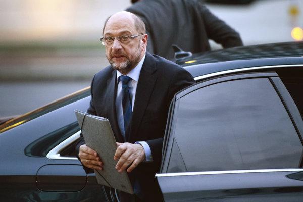 Líder Sociálnodemokratickej strany Nemecka SPD Martin Schulz.