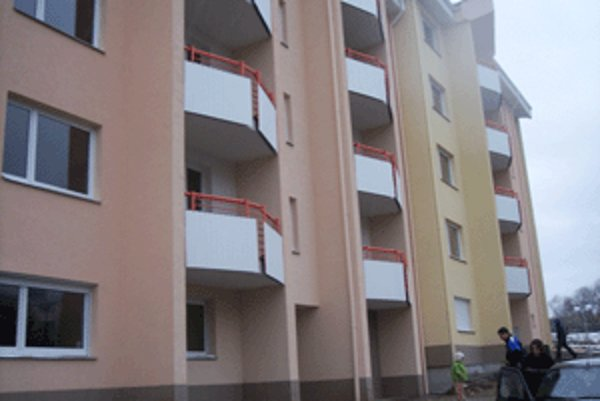 Posledné nájomné byty vyrástli na Zlatom potoku.