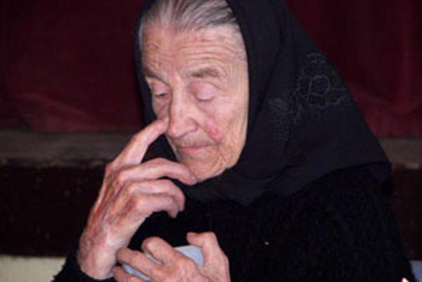 Anna Kapustíková oslávila sté narodeniny.