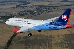 Airbus A319 v službách letky Ministerstva vnútra.