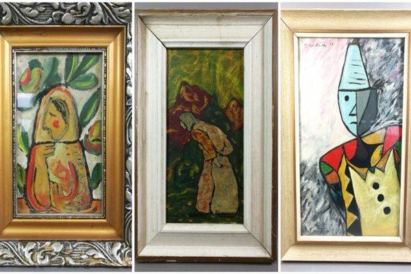 Za pár stoviek a pár klikov sa cez eBay dajú kúpiť obrazy od autorov ako sú Galanda, Bazovský, či Hložník.