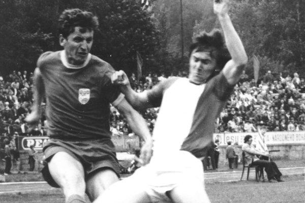 Jozef Huťka na ihrisku nikomu nič nedaroval.