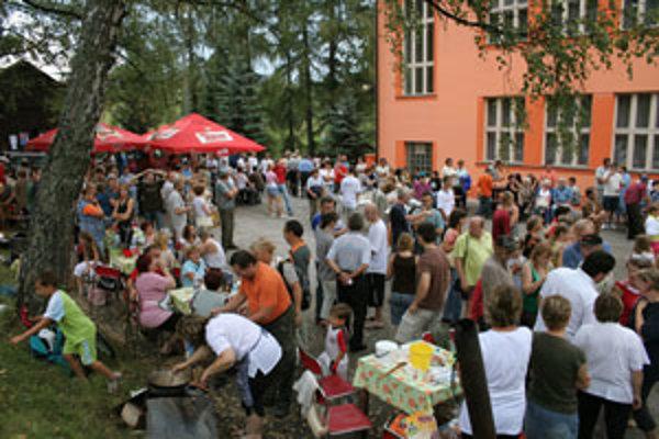 Stretnutie rodákov je v Detvianskej Hute každoročne veľkou udalosťou.