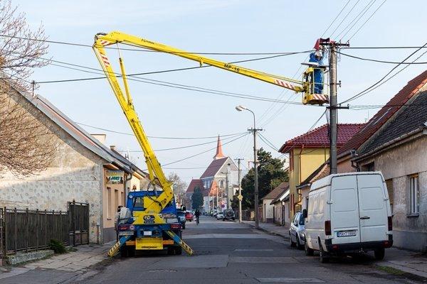 Pracovníci už začali s modernizáciou od polovice januára.