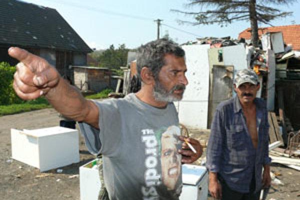 Rómovia sa z domu nechcú vysťahovať.