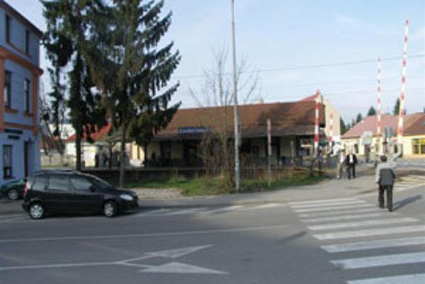 Železničné priecestie Zvolen - mesto.