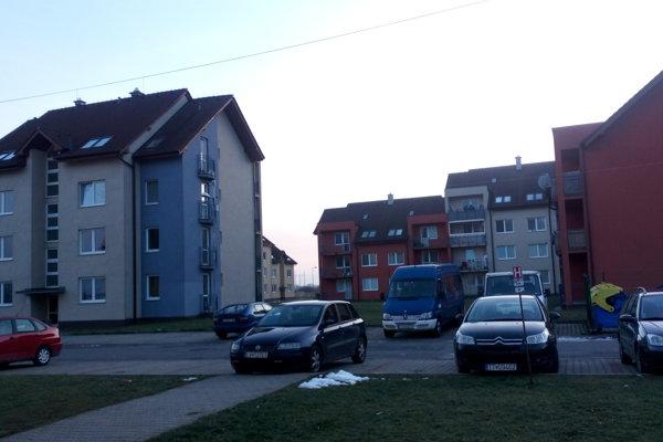 Sídlisko Poronda v Zavare.