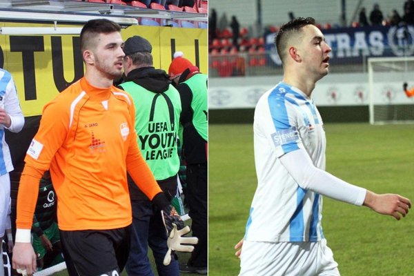 Róbert Baláži zaujal výborný výkonom v bráne, Marek Fábry dvoma strelenými gólmi.