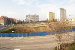 Tabáň, pohľad z Piaristickej ulice.