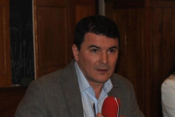 Milan Maďar. Generálny riaditeľ nemocnice.