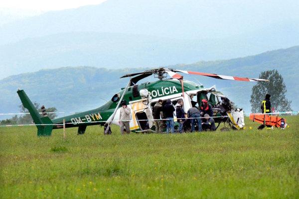 Havária policajného vrtuľníka si vyžiadal dve obete.