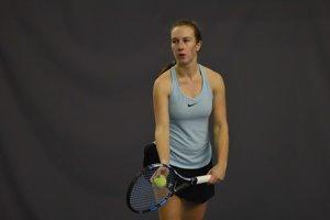 Na snímke slovenská tenistka Timea Jarušková.