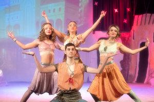 Muzikál: Aladin a čarovná lampa.