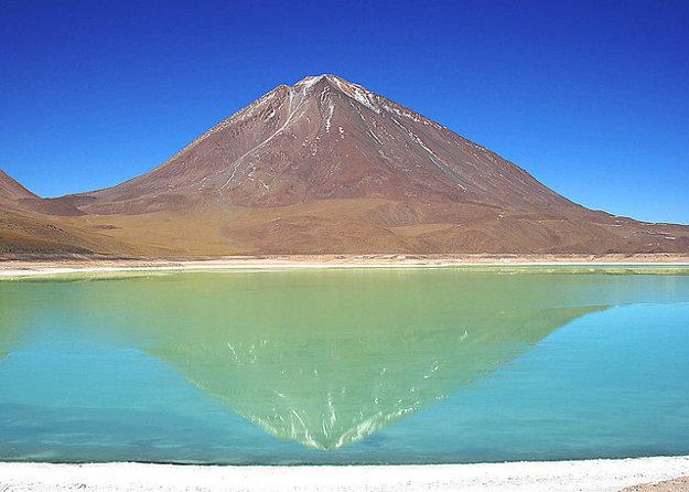 Čile/Bolívia. Licancabur.