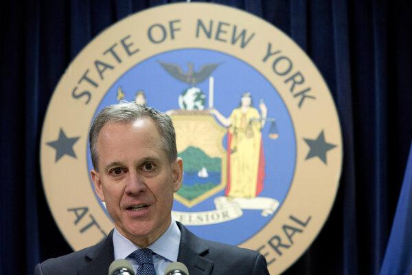 Štátny generálny prokurátor amerického štátu New York Eric Schneiderman.