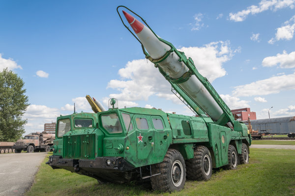 Balistická strela Scud-B, ktorú má vo výzbroji aj KĽDR.