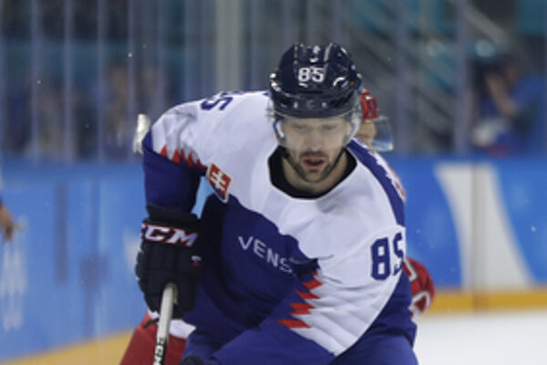 Autor prvého gólu Slovákov na olympiáde Peter Ölvecký