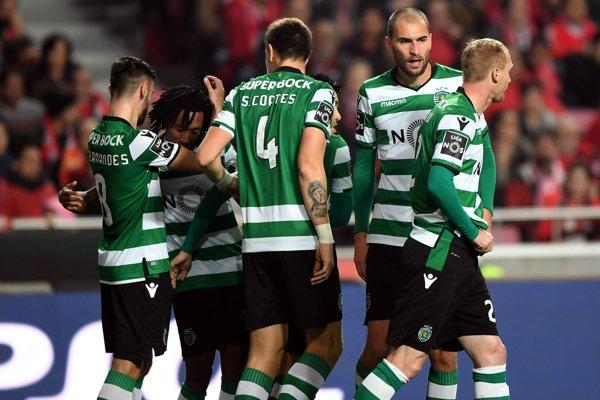 Futbalisti Sportingu Lisabon.