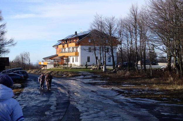 Nový penzión Guldiner začínal sezónu bez vody. Podobne ako kremnické mestské Relax centrum je už v prevádzke.