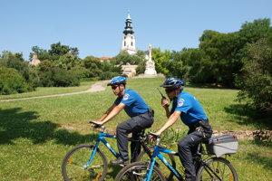 Cyklohliadka nitranskej mestskej polície.