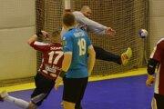 V Topoľčanoch to bol zápas Michala Meluša, ten v druhom polčase predvádzal neuveriteľné zákroky.