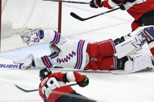 Hráči Ottawy zvíťazili na New York Ranger 6:3.