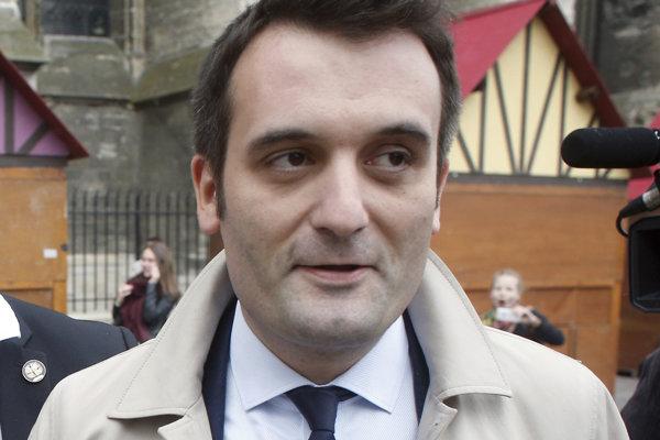 Bývalý podpredseda francúzskeho Národného frontu Florian Philippot.