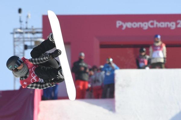 Klaudia Medlová počas kvalifikácie Big Air na ZOH v Pjongčangu - ilustračná fotografia.