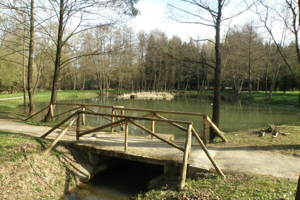 Mestský park V budúcnosti možno bude v mestskom parku náučný chodník.