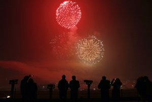Nový rok privítali aj v Južnej Kórei.
