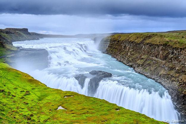 Island. Gullfoss