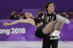 Lucie Myslivečková a Lukáš Csölley obsadili 20. miesto.