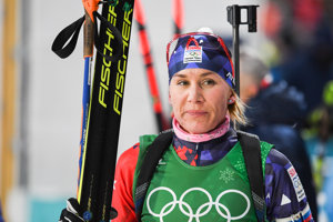 Sklamaná Anastasia Kuzminová.