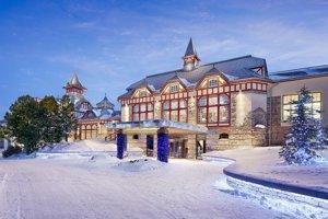Grand hotel Kempinski vo Vysokých Tatrách.