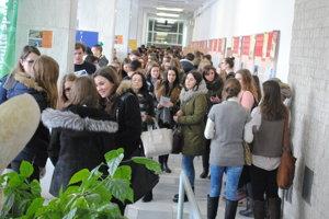 Deň otvorených dverí na Prešovskej univerzite.