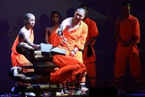 Mnísi Šaolin Kung Fu sú majstrami v narábaní s energiou v ľudskom tele.