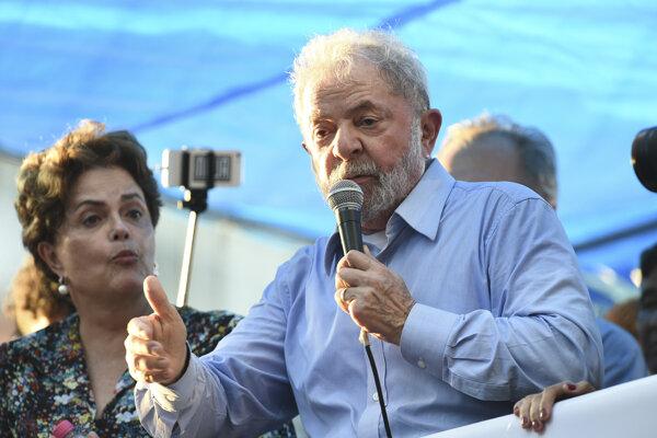 Bývalý brazílsky prezident Luiz Inacio Lula da Silva.